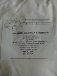 4 quilos - Extrato de soja ( leite de soja) sabor baunilha