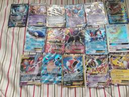 Cartas Pokémon ex, mega ex e gx