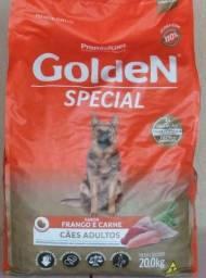 Ração Golden Special 20 kilos *160,00* grão médio adulto, sabor frango e carne