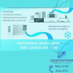 Ar condicionado vendas , manutençoes e instalação