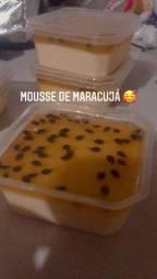 Mousses e gelatinas