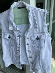 Colete Jeans Vide Bula TAM G