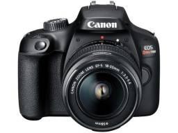 Câmera digital canon dslr semiprofissional - 24,1mp EOS Rebel SL3 Wi-Fi Zoom 3x