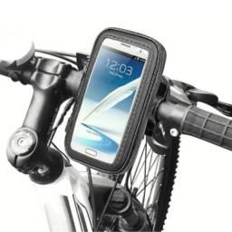 Suporte Celular Moto Bike Bicicleta Capa Gps Prova D'água