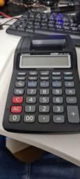 Calculadora casio e sharp com bobina