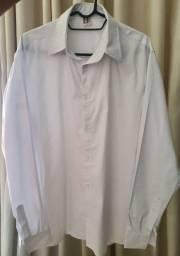 Camisa Social - Apenas Branca Tamanho M