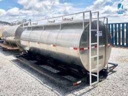 Tanque Rodoviário usado isotérmico para transporte de leite 8.000, 9.000, 10.000 lts