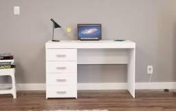 Mesa de escritório 4 gavetas