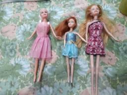 Vendo kit de 3 bonecas