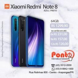 Xiaomi Redmi Note 8 64GB 4GB Ram Novo