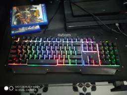 Teclados e mouse gamer