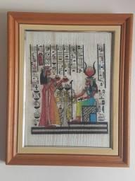 Quadro decorativo - Gravura emoldurada - Egito antigo