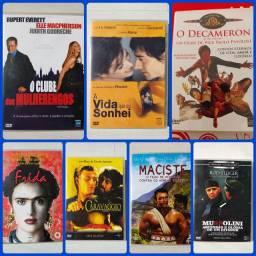Filmes em DVD. 7 títulos. Todos com idioma italiano