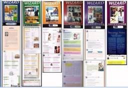 Livros wizard w2 w4 w6 w8 w10 w12 completos + audios