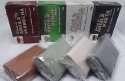 Kit Sabonetes de Argila