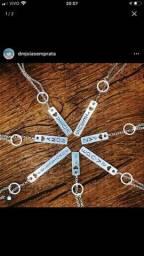 Gravatinhas em prata 925 com escritas