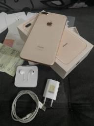 IPhone 8 plus com garantia.