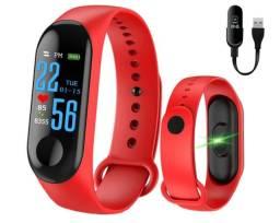 Relógio Inteligente Smart Band Bluetooth M3