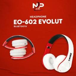 Fone De Ouvido Bluetooth 5.0 Evolut Eo-602
