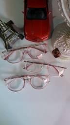 Belíssimos óculos feminino de descanso ou para por lente de grau