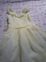 Vestido social para criança de 2 anos