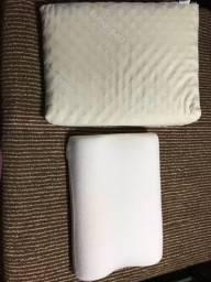 Triângulo ortobom e travesseiro duoflex para cervical