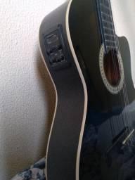 Violão elétrico Start Gianini modelo: NF-CEQ BK