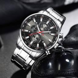 Relógio Masculino de Luxo - Lançamento 2020 Original Curren