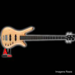 Baixo Warwick RockBass Corvette 4C Honey Seminovo