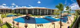 Excelente apartamento de alto padrão no resort a beira mar em muro alto/2quartos