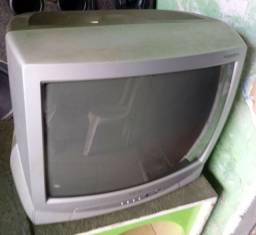 Vendo dois televisores 14 e 20 polegadas com e sem conversor