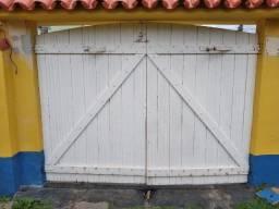 Portão de Garagem e Social de Ipê, Usado