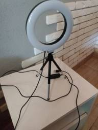 Ring Light + Tripé Mini (NOVO)