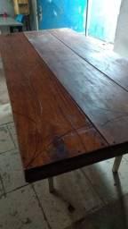 Mesa de madeira 1x2 nova