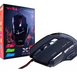 Mouse Gamer X7 Cabo Nylon lED - 3.000 DPI (Super Rápido)