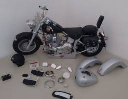 Replica harley davidson fat boy 1:100