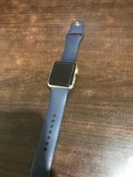 Apple Watch Serie 1 42mm Dourado Seminovo - com nota e garantia, somos loja fisica