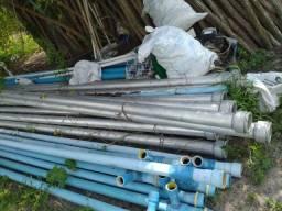Tubos de alumínio para irrigação de 4 polegadas - engate metálico