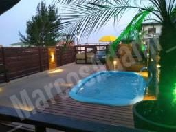 Faça sua reserva! Casa com piscina, 2 dormitórios em Arroio do Sal/RS