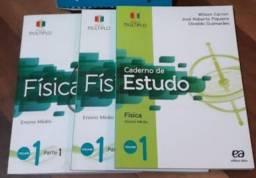 Livro Projeto múltiplo física volume 1 - conjunto completo