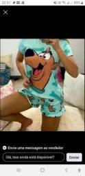 Pijamas personalizado curtos