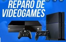 Reparo e Manutenção em Consoles (Loja GameStop)