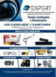 Expert segurança eletrônica e antenas