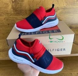 Tênis Tommy Hilfiger vermelho (PROMOÇÃO)