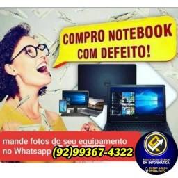 C.O.M.P.R.O Notebooks e PC com defeitos