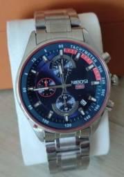 Relógio Nibose de luxo  novo na caixa