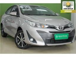 Título do anúncio: Toyota Yaris 2019 1.5 16v flex sedan xls multidrive