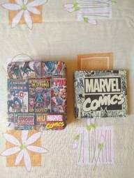 Vendo Carteira Marvel 100% Poliuretano Edição ilimitada
