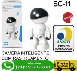 Câmera Ip Robô Auto Tracking Visão Noturna Fullhd 1080p Wifi (NOVO)
