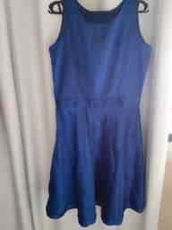 Vestido azul Royal Tam m